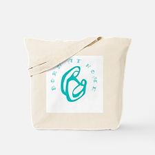 Homebirth Mom and Baby Tote Bag
