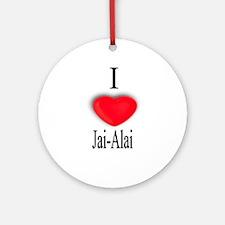 Jai-Alai Ornament (Round)