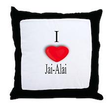 Jai-Alai Throw Pillow