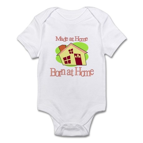 Made and Born at Home (Homebirth) Infant Creeper
