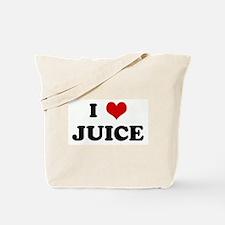I Love JUICE Tote Bag