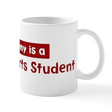 Mom is a Language Arts Studen Mug