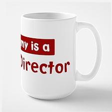 Mom is a Funeral Director Mug