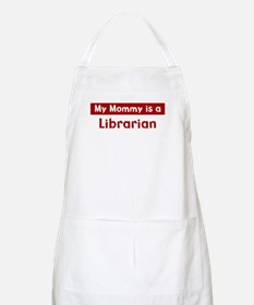 Mom is a Librarian BBQ Apron