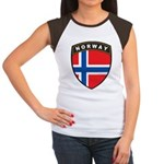 Norway Women's Cap Sleeve T-Shirt