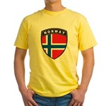 Norway Yellow T-Shirt