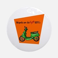 Moped's are the NEW SUV's Ornament (Round)