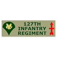 127th Infantry <BR>Specialist Bumper Bumper Sticker
