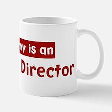 Mom is a Executive Director Mug