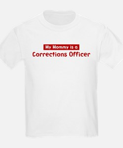 Mom is a Corrections Officer T-Shirt