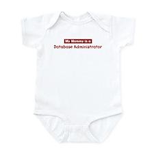 Mom is a Database Administrat Infant Bodysuit