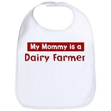 Mom is a Dairy Farmer Bib