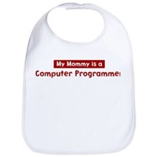Mom is a Computer Programmer Bib