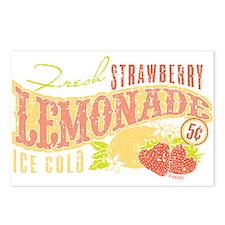 Strawberry Lemonade Postcards (Package of 8)