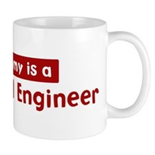 Mom is a Biomedical Engineer Mug