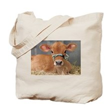 Cute Jersey Calf Tote Bag