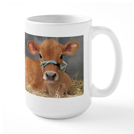 Cute Jersey Calf Large Mug