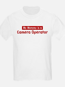 Mom is a Camera Operator T-Shirt