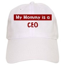 Mom is a CEO Baseball Cap