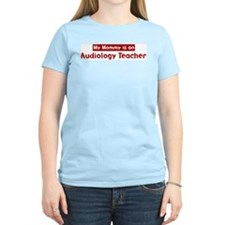 Mom is a Audiology Teacher T-Shirt