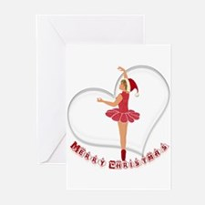 Christmas Dancer Greeting Cards (Pk of 10)