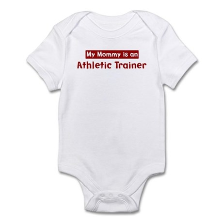 Mom is a Athletic Trainer Infant Bodysuit