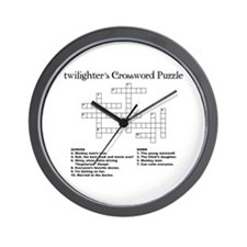 Twilight Puzzle Wall Clock