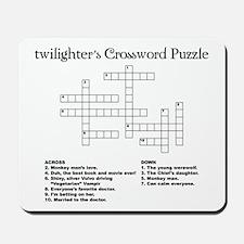 Twilight Puzzle Mousepad
