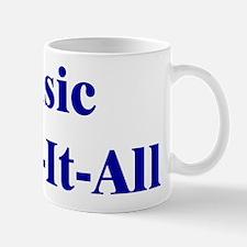 Music Know-It-All Mug