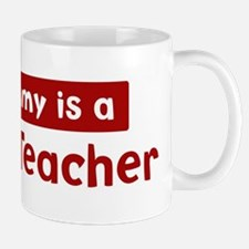 Mom is a Botany Teacher Mug