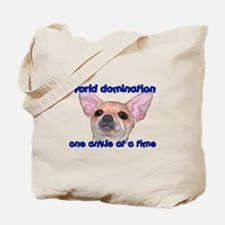Chihuahua world Tote Bag