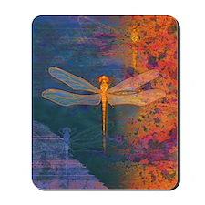 Flaming Dragonfly Mousepad
