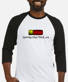 Sporting Clays Track Baseball Jersey