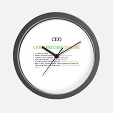 Cfo Wall Clock