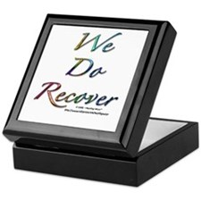 """We Do Recover"" Keepsake Box"
