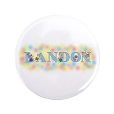 """Landon"" with Mice 3.5"" Button"