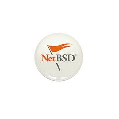 NetBSD Devotionalia Mini Button (100 pack)