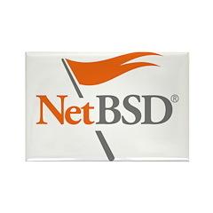 NetBSD Devotionalia Rectangle Magnet
