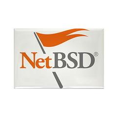 NetBSD Devotionalia Rectangle Magnet (10 pack)