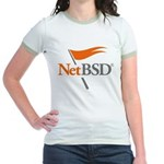 NetBSD Devotionalia Jr. Ringer T-Shirt