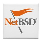 NetBSD Devotionalia Tile Coaster