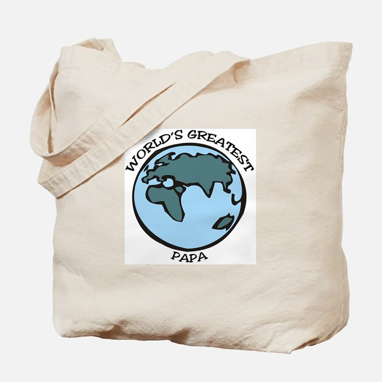 Greatest Papa Tote Bag