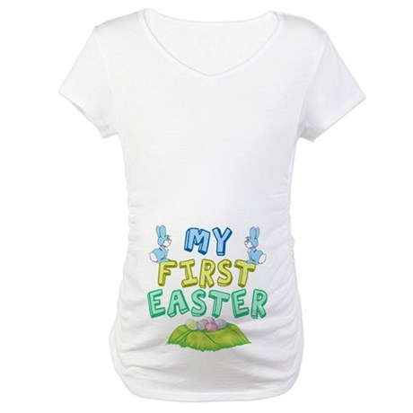 My First Easter Maternity T-Shirt