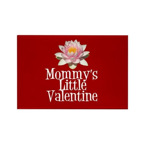 Mommy's Little Valentine Rectangle Magnet