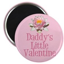 Daddy's Little Valentine Magnet