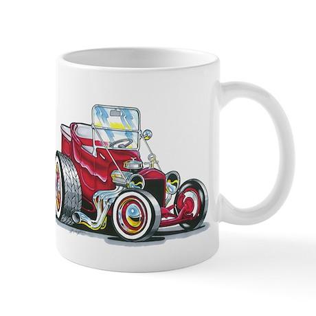 Little red T Bucket Mug