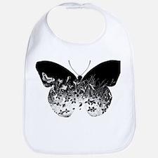 Escher Butterfly Bib