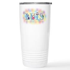 """""""Luis"""" with Mice Ceramic Travel Mug"""