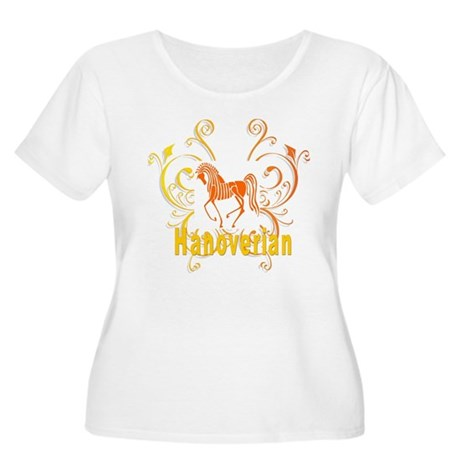 Sunny Hanoverian Women's Plus Size Scoop Neck T-Sh