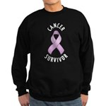 Cancer Survivor Sweatshirt (dark)
